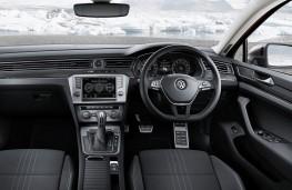 Volkswagen Passat Alltrack, interior, auto