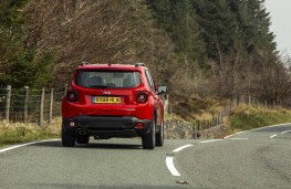 Jeep Renegade, rear