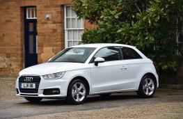 Audi A1, front