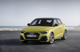 Audi A1, 2018, front