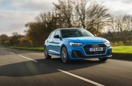 Audi A1 S line, 2019, front, action