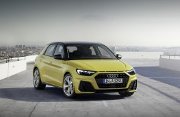 Audi A1, 2018, front, static