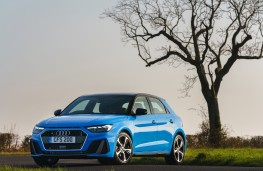 Audi A1 S line, 2019, front, static