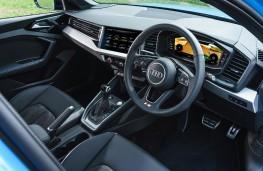 Audi A1 S line, 2019, interior