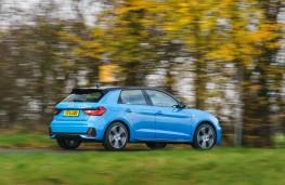 Audi A1 S line, 2019, rear, action