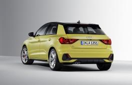 Audi A1, 2018, rear