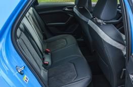 Audi A1 S line, 2019, rear seats