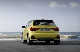 Audi A1, 2018, rear, static