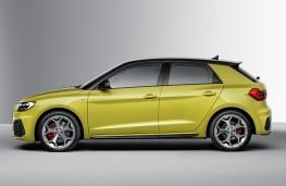 Audi A1, 2018, side
