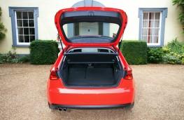 Audi A3, boot