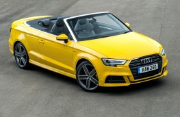 Audi A3 Cabriolet, 2016, front, static