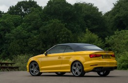 Audi A3 Cabriolet, 2016, rear, hood up