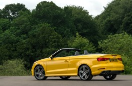 Audi A3 Cabriolet, 2016, rear, static