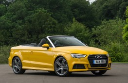 Audi A3 Cabriolet, 2016, side