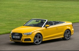 Audi A3 Cabriolet, 2016, side, static