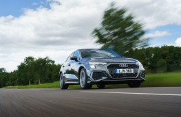Audi A3 Sportback, 2020, front, action