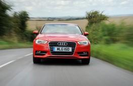 Audi A3, front