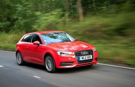 Audi A3 Sportback, 2016, front, action