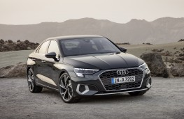 Audi A3 Saloon, 2020, front