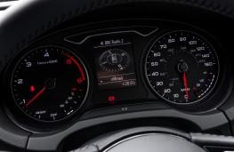 Audi A3, 2016, instruments