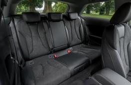 Audi A3, 2016, rear seats