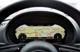 Audi A3 Sportback, 2016, instrument panel, map