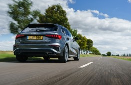 Audi A3 Sportback, 2020, rear, action