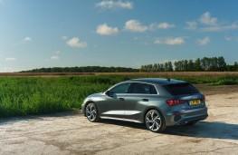 Audi A3 Saloon, 2020, rear