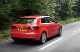 Audi A3, rear