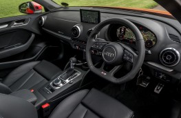 Audi A3 saloon, 2016, interior