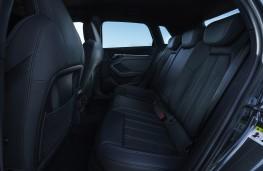 Audi A3 Sportback, 2016, rear seats