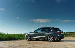 Audi A3 Saloon, 2020, side