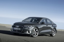 Audi A3 Saloon, 2020, front, static