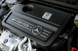 Mercedes A 45 AMG, engine