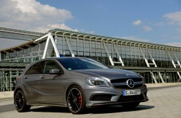 Mercedes A 45 AMG, front, static