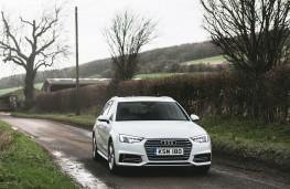 Audi A4 Avant, 2016, front