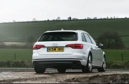 Audi A4 Avant, 2016, rear