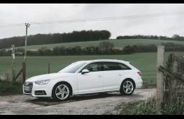 Audi A4 Avant, 2016, side