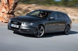 Audi A4 Avant, side