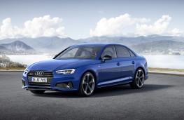 Audi A4, 2018, front
