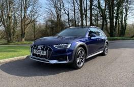 Audi A4 Allroad, 2021, front