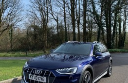 Audi A4 Allroad, 2021, front, upright