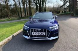 Audi A4 Allroad, 2021, nose