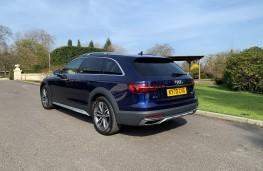 Audi A4 Allroad, 2021, rear
