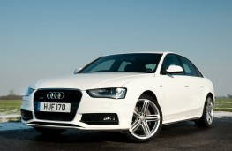 Audi A4 Saloon, front
