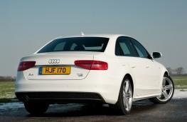 Audi A4 Saloon, rear