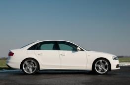 Audi A4 Saloon, side