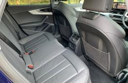 Audi A4 Allroad, 2021, rear seats