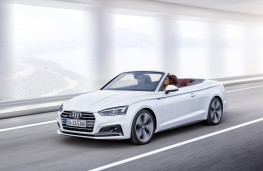 Audi A5 Cabriolet, 2016, front