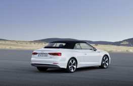 Audi A5 Cabriolet, 2016, rear, hood up